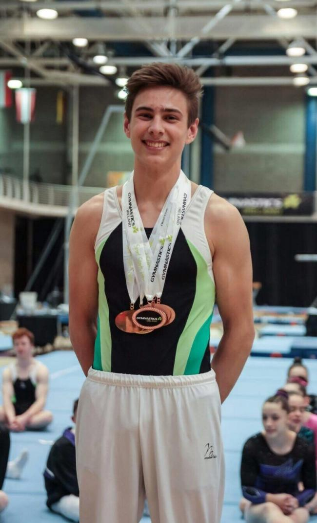Tokyo Olympics gymnastic hopeful Adam Steele hopes to get