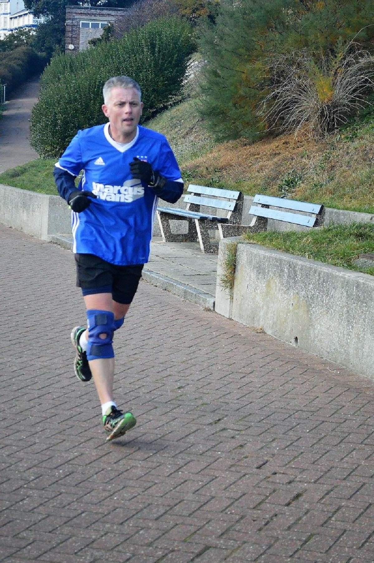 Rapid progress - Mike Ball has exceeded expectations this year and ran a time of 21 minutes 59 seconds at the latest Harwich Parkrun