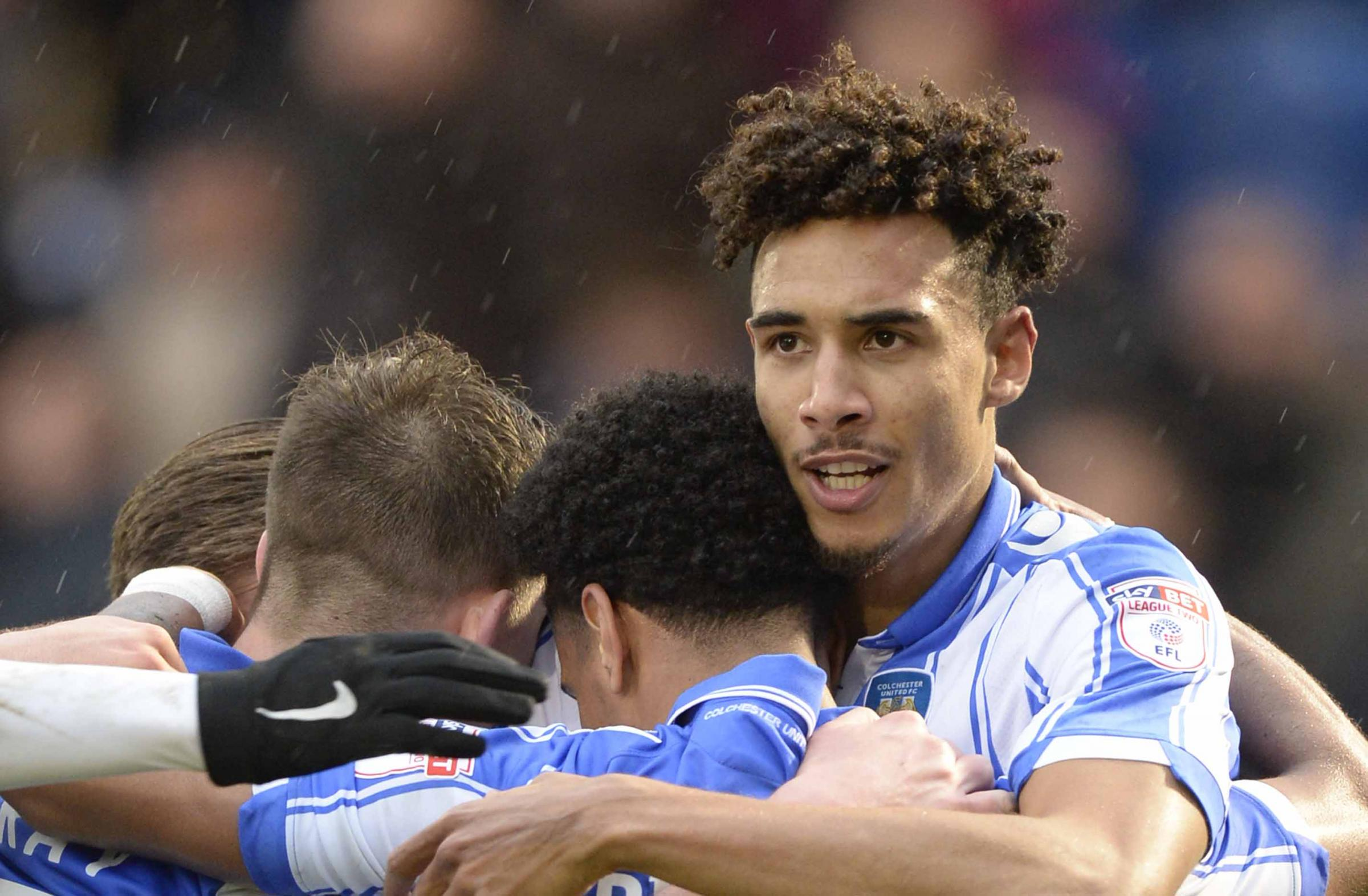 Back in the fold - Kurtis Guthrie is hoping to return to the Colchester United squad for their game against Port Vale Picture: STEVE BRADING