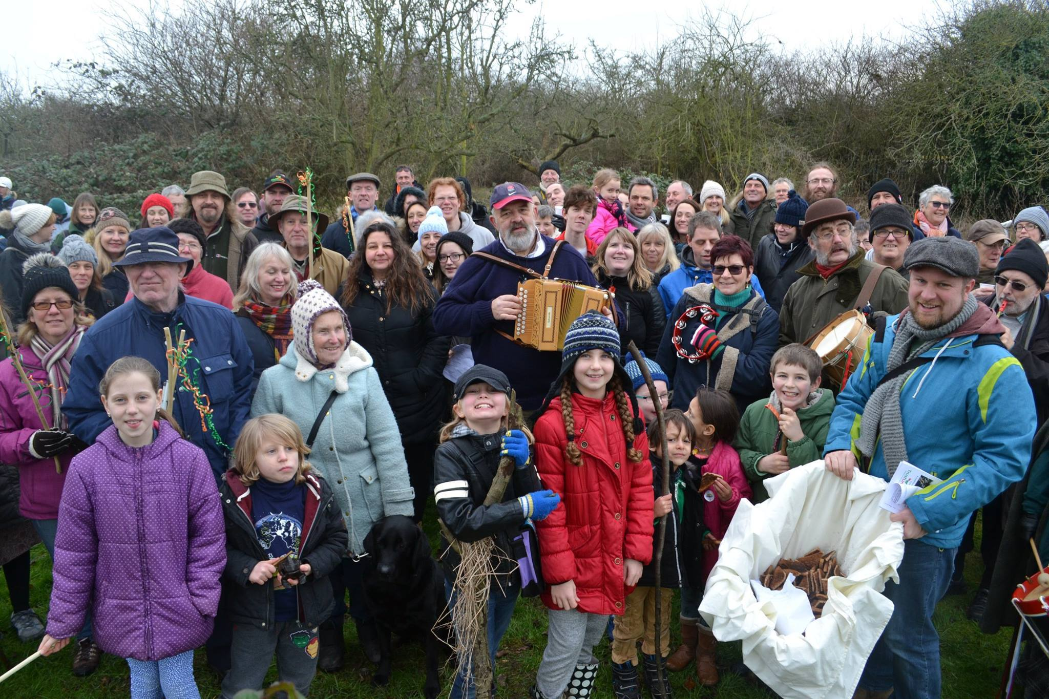 Wassailing at St Laurence Orchard