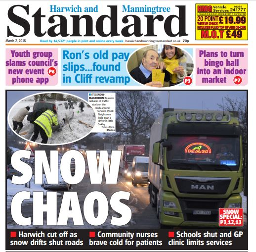 In this week's Standard...