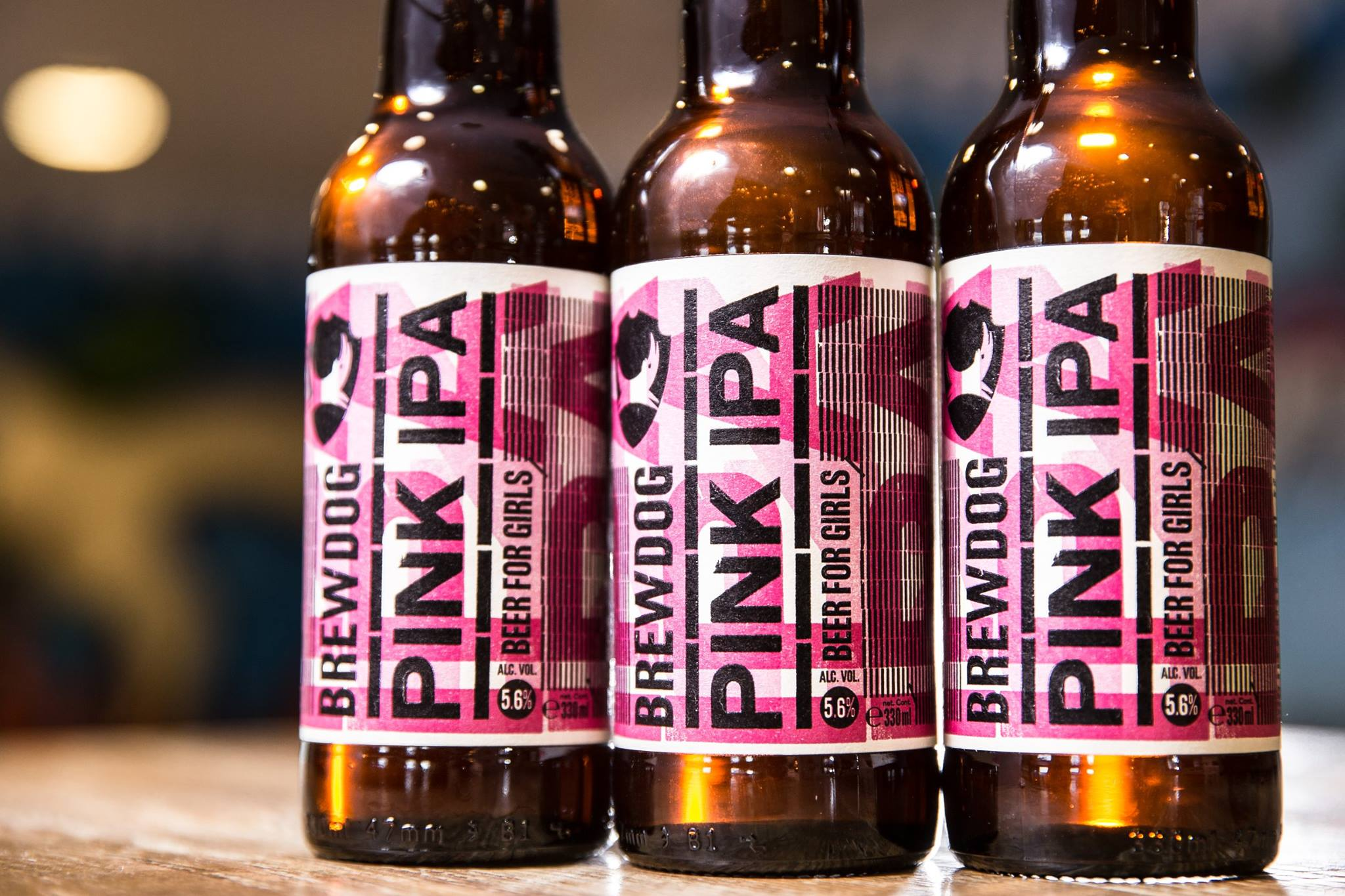 Brewdog's pink beer for girls