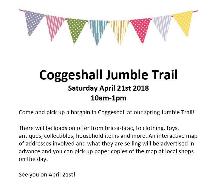 Coggeshall Jumble Trail 2018