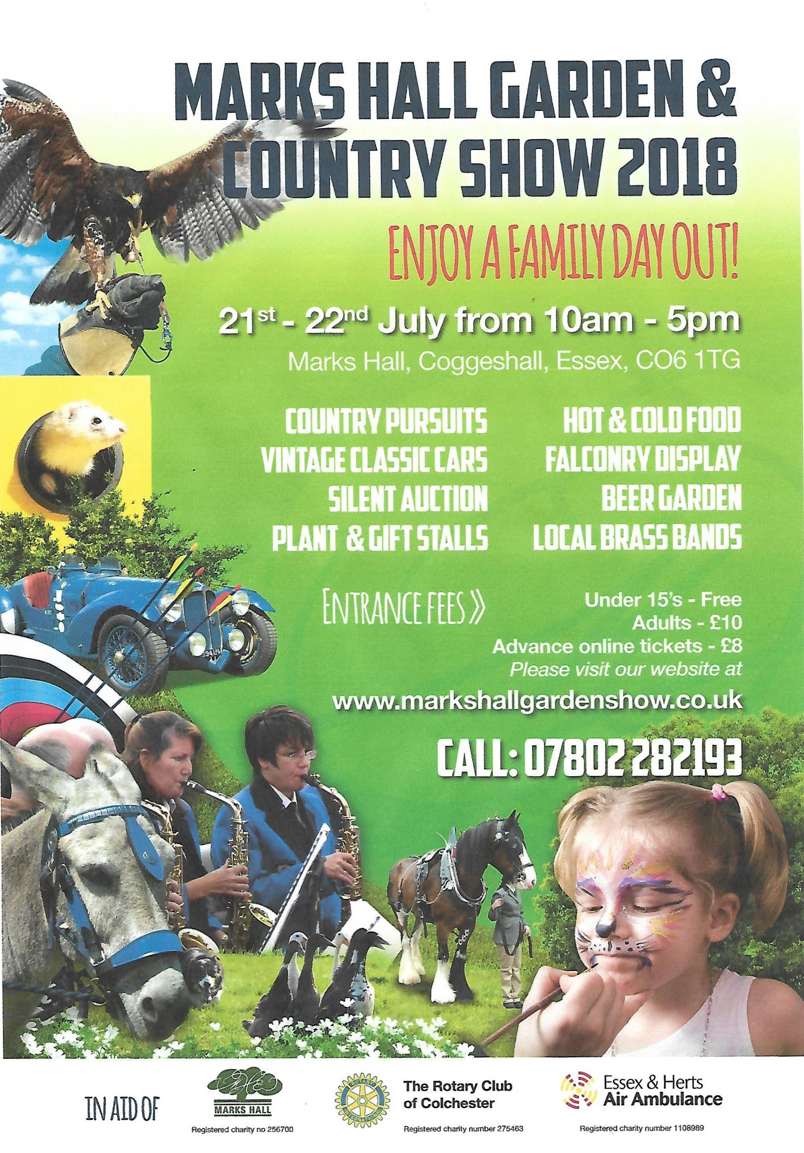 Marks Hall Garden and Country Show 2018