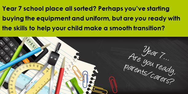 FREE Workshop for parents/carers: Smooth The Move to Secondary School
