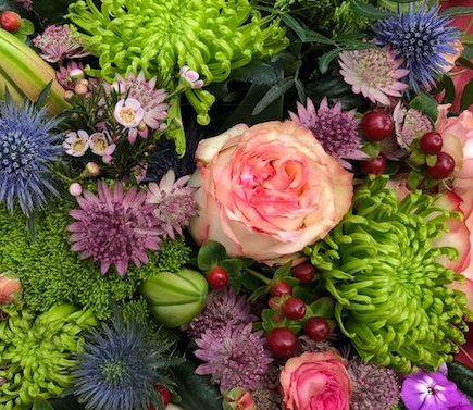 Simple Flowers - Flower Arranging at Cammas Hall Farm