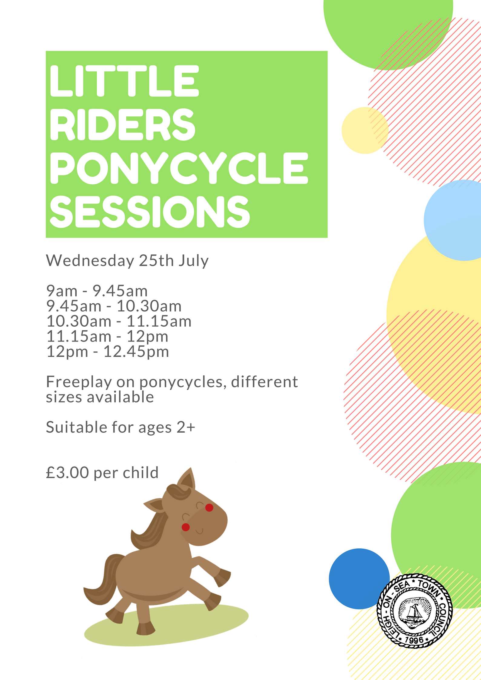 Little Riders Ponycycle Sessions