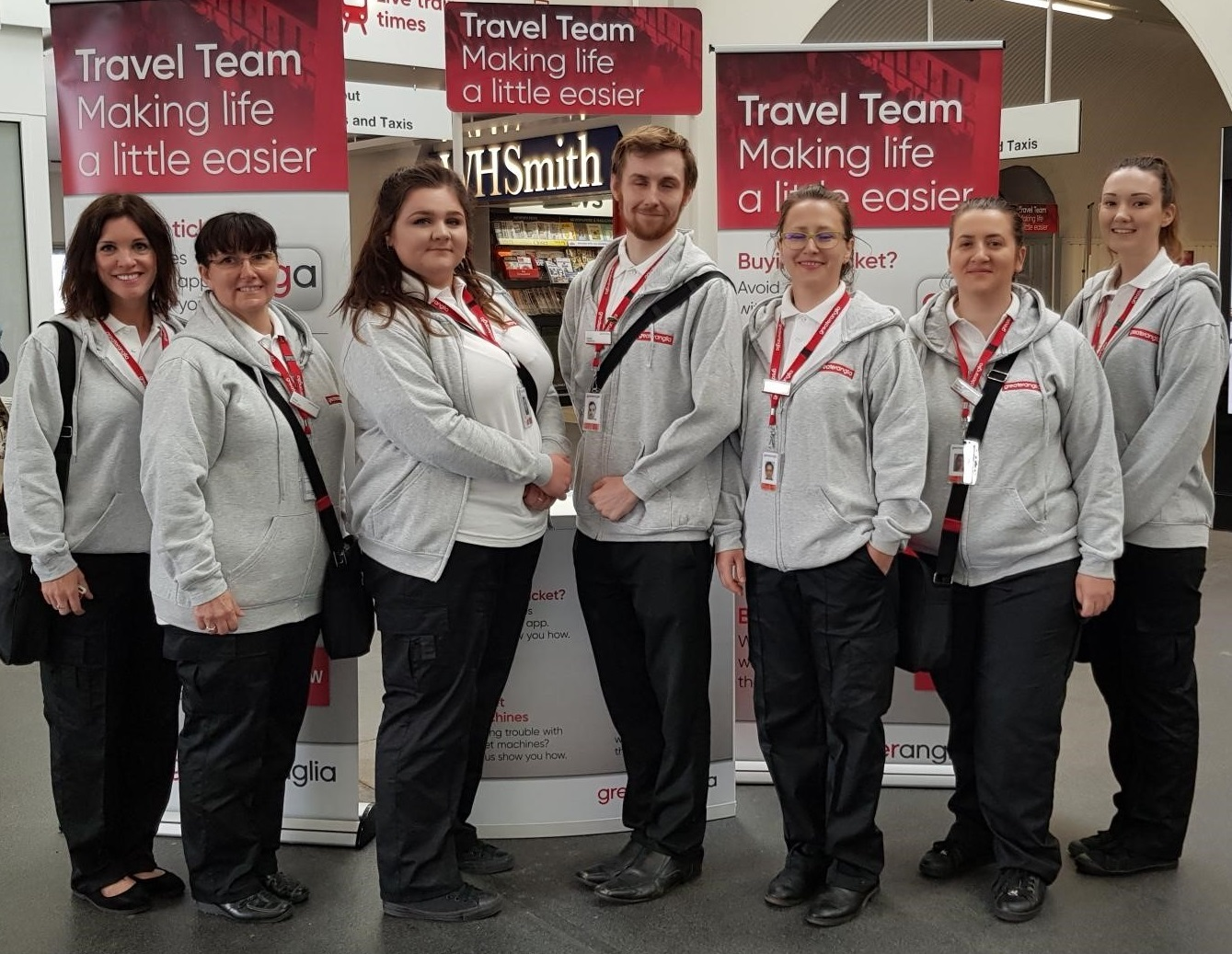 Greater Anglia's travel team