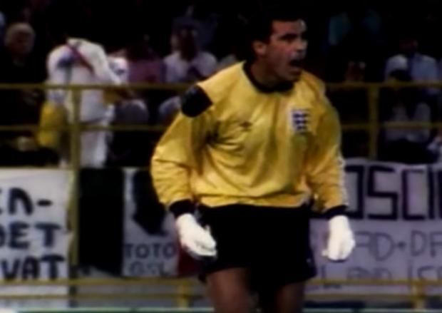Harwich and Manningtree Standard: Peter Shilton 1990 world cup