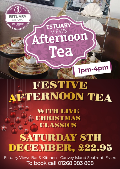 Festive Afternoon tea with Live Christmas Music