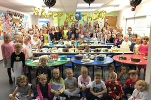 Chase Lane Primary celebrates 50 years