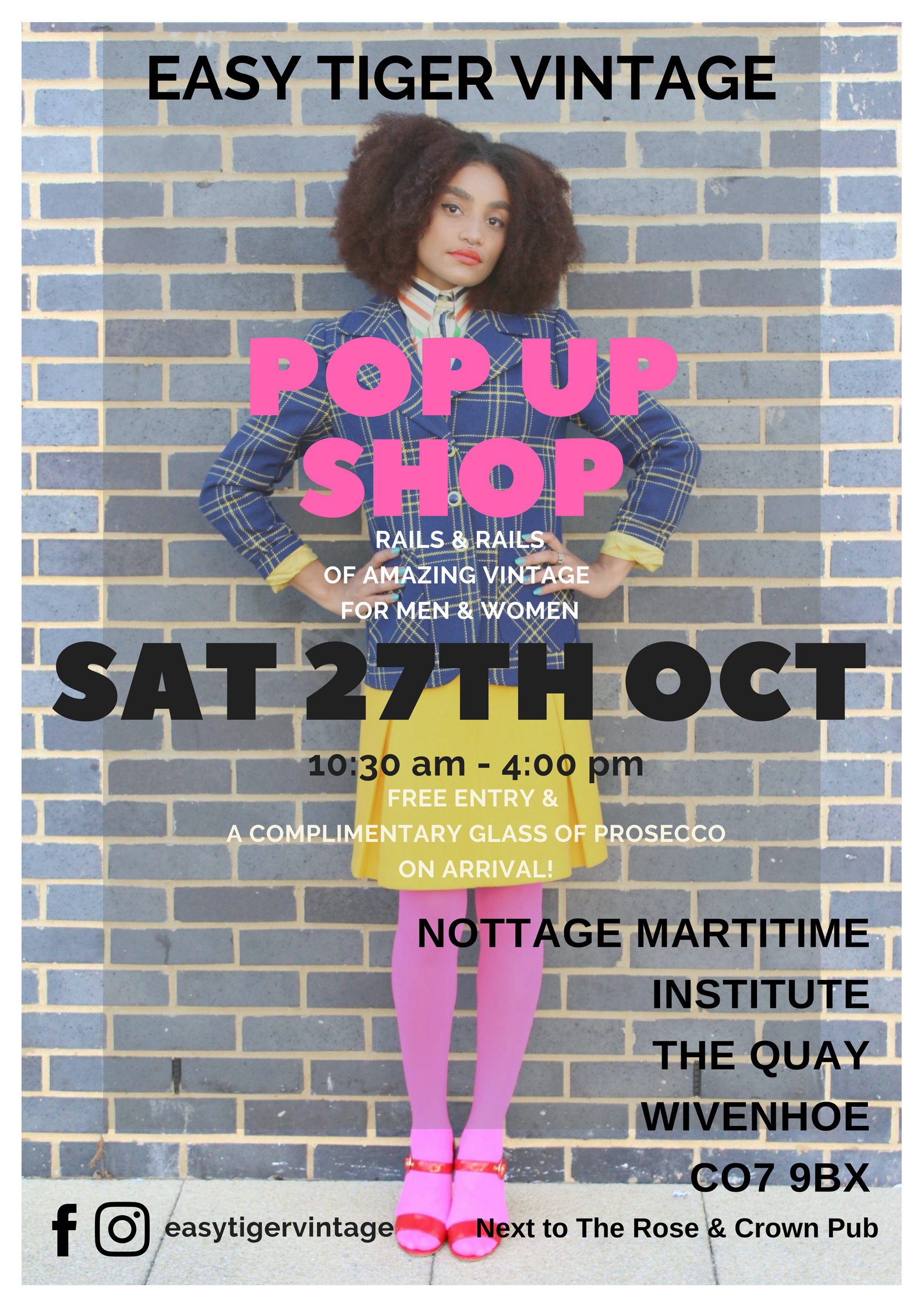 EASY TIGER VINTAGE POP UP SHOP