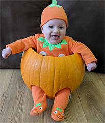 Harwich and Manningtree Standard: Little Pumpkin Pic 1 Dotty Burns