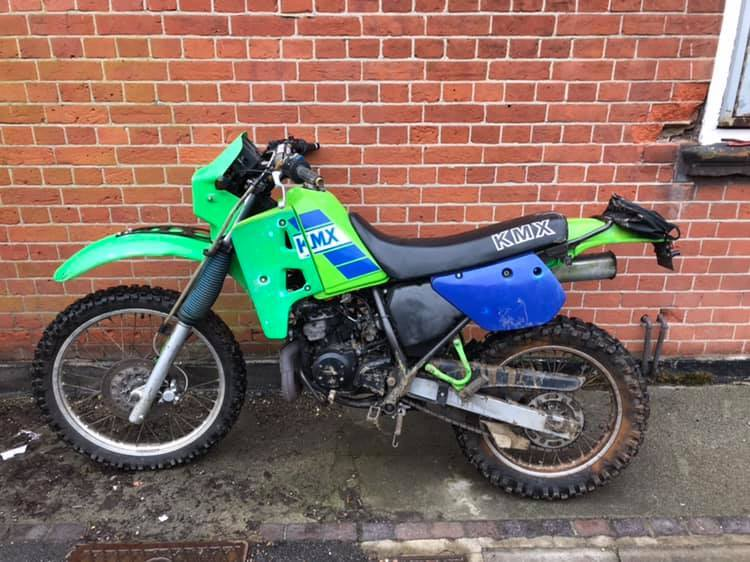 STOLEN BIKE: A man has been arrested in connection to the theft of this motorbike