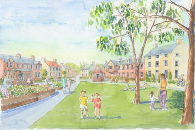 Vision - how the new town at West Tey could look