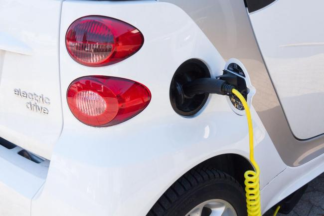 An electric car being recharged. Picture: Stock image