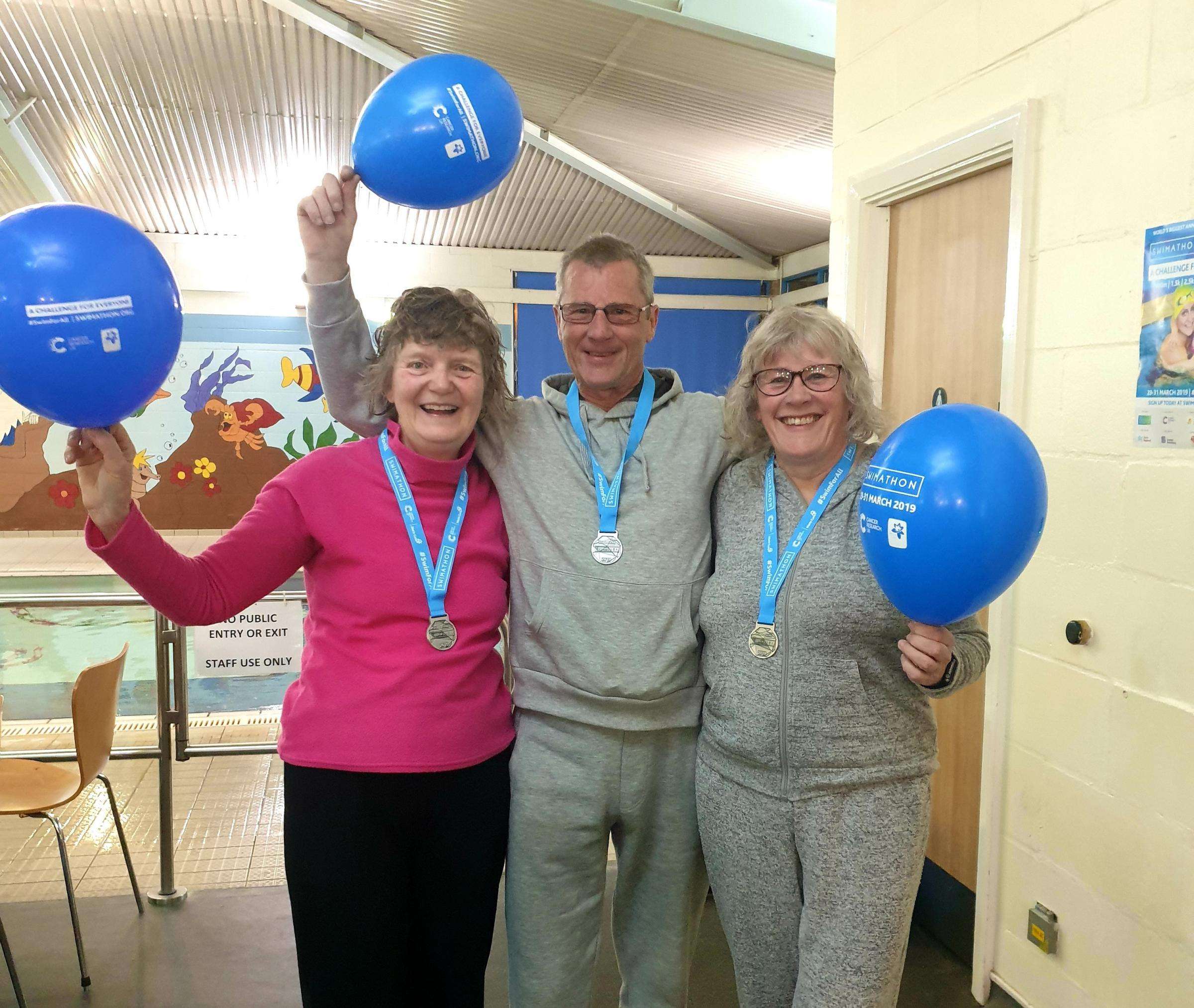 Swimathon - swimmers from across Tendring took part in the fundraiser