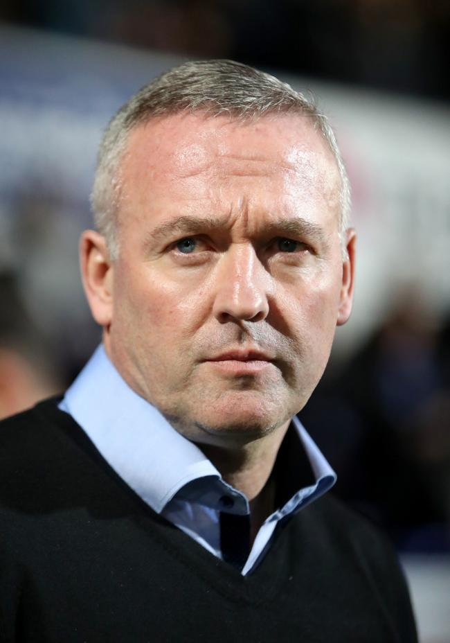 Ipswich Town manager Paul Lambert during the Sky Bet Championship match at Portman Road, Ipswich. PRESS ASSOCIATION Photo. Picture date: Friday November 23, 2018. See PA story SOCCER Ipswich. Photo credit should read: John Walton/PA Wire. RESTRICTIONS: ED