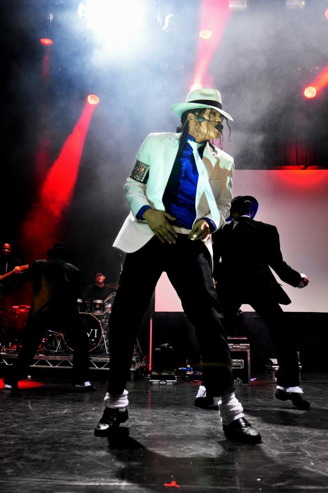 Cancelled - Navi, the Michael Jackson tribute act, had been due to perform in April