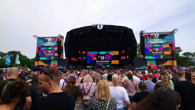Following the success of 2019 at Middlesborough (pictured), Radio 1's Big Weekend 2020 was due to take place in Dundee, Scotland, but has been replaced with a 'virtual' event instead. Picture: Newsquest