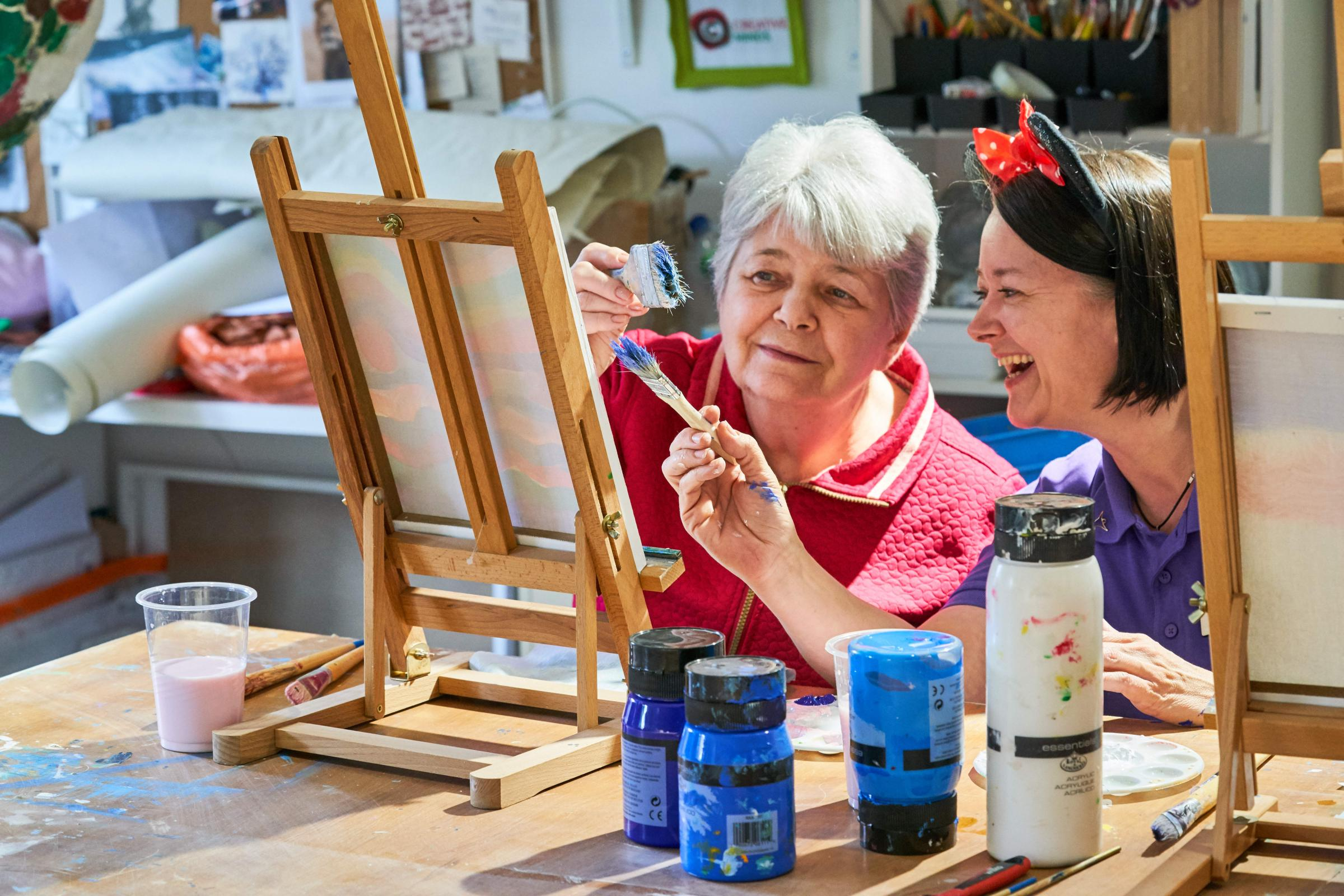 Get creative in Chelmsford this Care Home Open Day